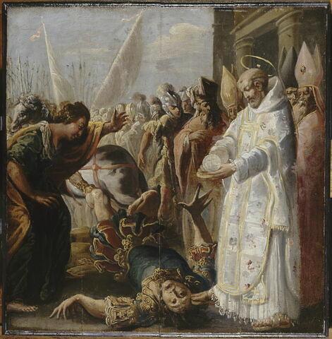 Saint Bernard et le duc d'Aquitaine