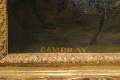 détail inscription © 2020 Musée du Louvre / Peintures