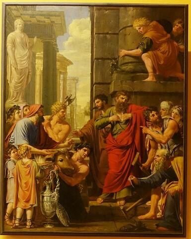 Saint Paul et saint Barnabé refusant les honneurs divins à Lystre