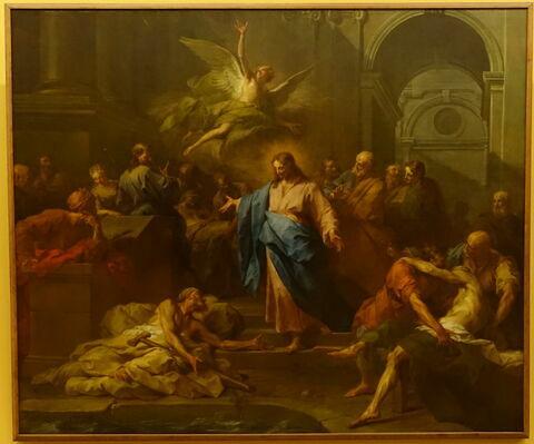 Le Christ guérissant le paralytique, dit aussi La Piscine probatique