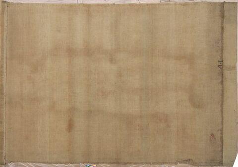 vue d'ensemble ; déroulé ; dos, verso, revers, arrière © 2012 Musée du Louvre