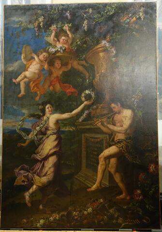 La Danse d'une nymphe et d'un satyre