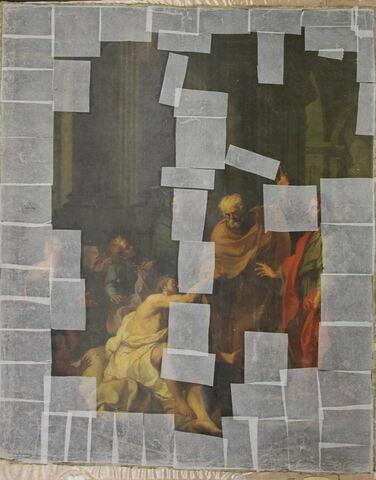 face, recto, avers, avant ; vue d'ensemble ; déroulé © 2012 Musée du Louvre