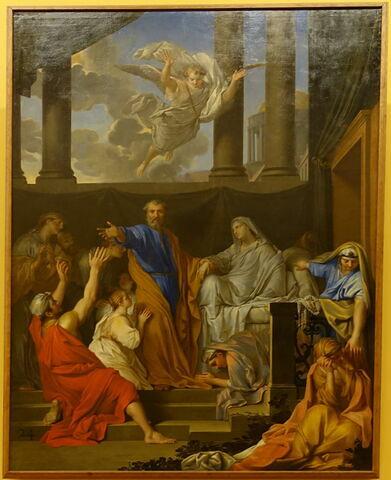 Saint Pierre ressuscite la veuve de Tabithe