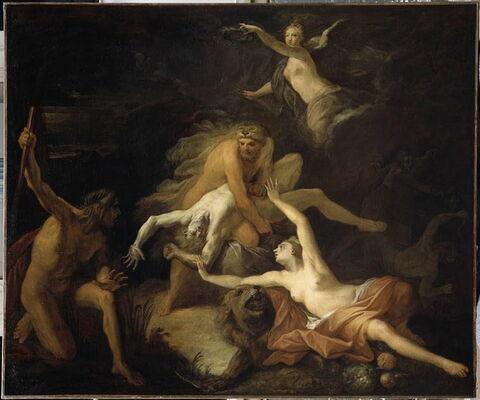 Hercule étouffant Anthée