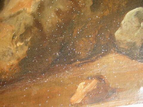 face, recto, avers, avant ; détail © 2006 Musée du Louvre / Peintures