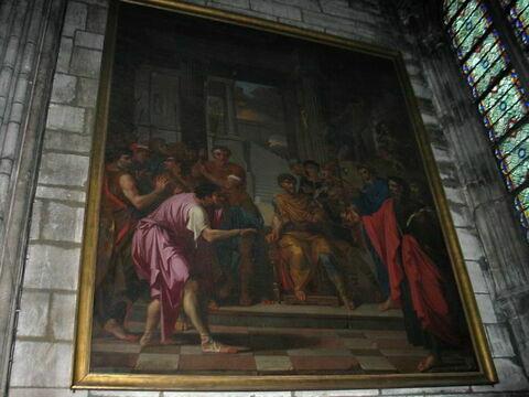 Saint Paul convertissant le Proconsul Sergius en rendant aveugle le magicien Barjésu