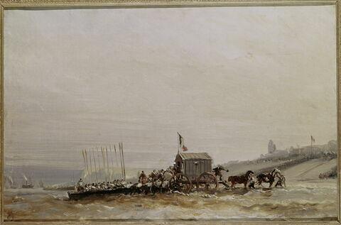 Débarquement de la reine Victoria au Tréport en 1843
