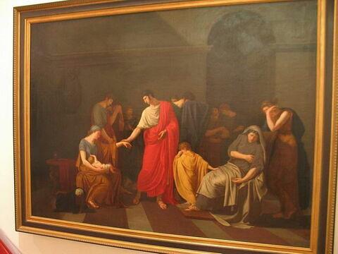 Les Adieux de Coriolan à sa femme.