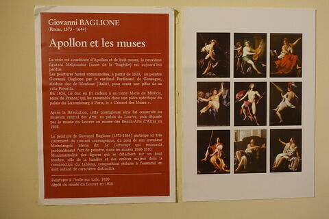 vue d'ensemble ; détail cartel © 2020 Musée du Louvre / Peintures