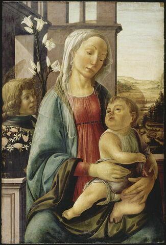 La Vierge et l'Enfant avec un ange