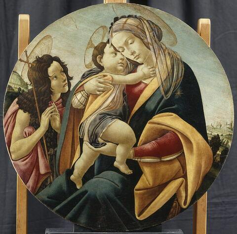 Vierge avec l'Enfant et le petit saint Jean