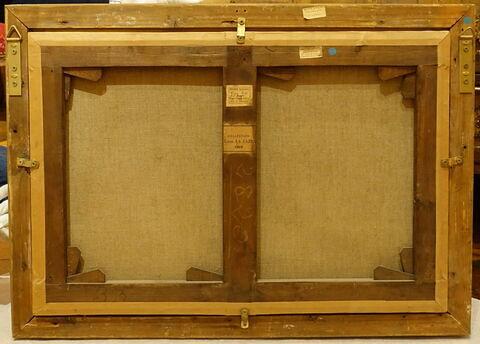 dos, verso, revers, arrière © 2020 Musée du Louvre / Peintures