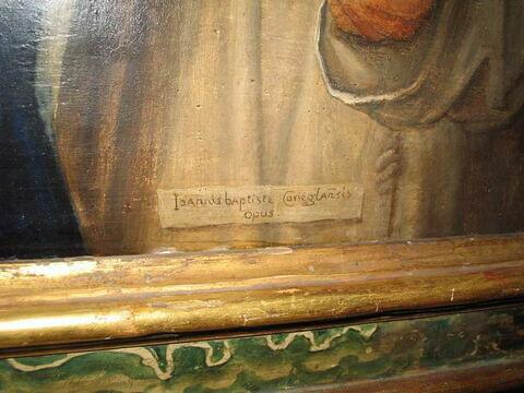 face, recto, avers, avant ; détail signature © 2009 Musée du Louvre / Agnès Larigaldie-Galvani