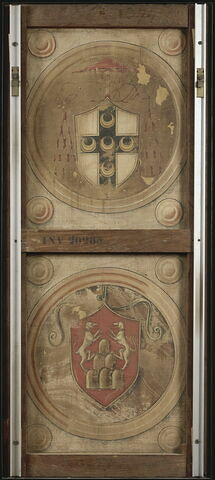 dos, verso, revers, arrière ; vue d'ensemble ; vue avec montage © 2001 RMN-Grand Palais (musée du Louvre) / René-Gabriel Ojéda
