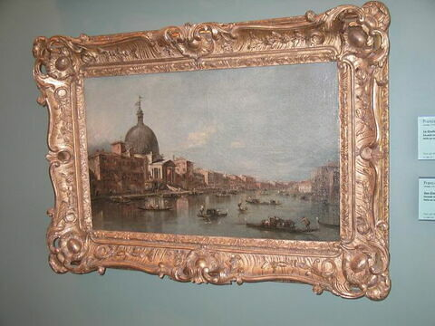 Vue de San Simeone Piccolo à Venise