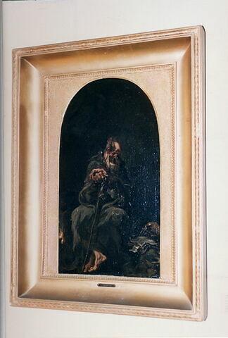 face, recto, avers, avant ; vue d'ensemble © 2003 Musée du Louvre / Peintures