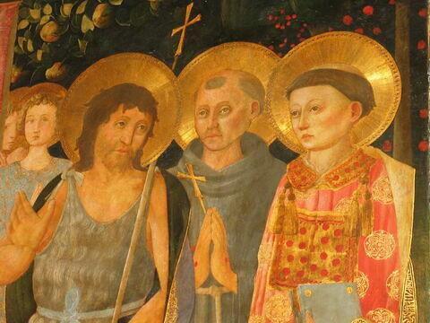 face, recto, avers, avant ; détail © 2009 Musée du Louvre / Peintures