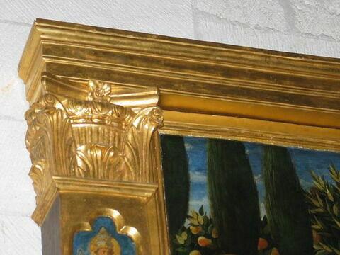 cadre ; détail © 2009 Musée du Louvre / Peintures