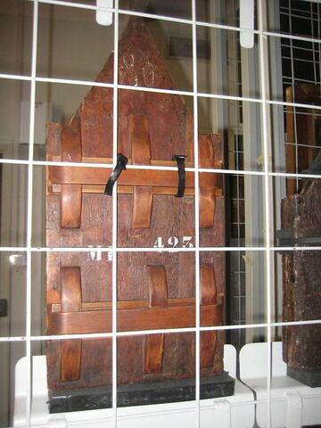 dos, verso, revers, arrière ; vue d'ensemble © 2009 Musée du Louvre / Peintures