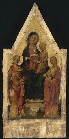 La Vierge et l'Enfant entre sainte Marguerite et sainte Catherine