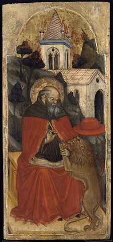 Saint Jérôme guérissant le lion