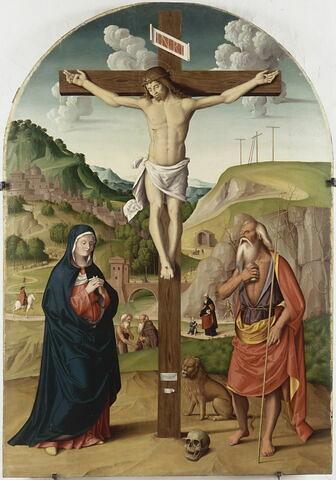 Le Calvaire avec saint Jérôme pénitent