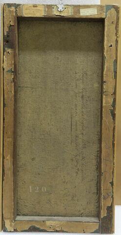 vue d'ensemble ; dos, verso, revers, arrière © 2019 Musée du Louvre / Peintures