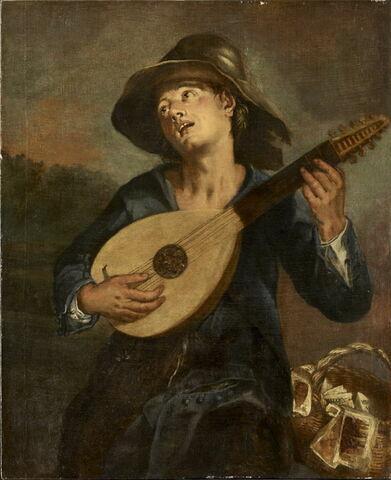 Chanteur au luth