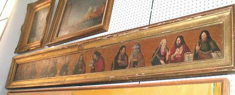 Jésus Christ au milieu des apôtres