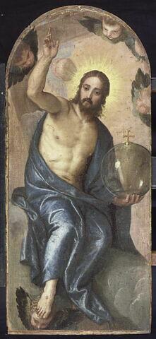 Le Christ tenant la boule du monde