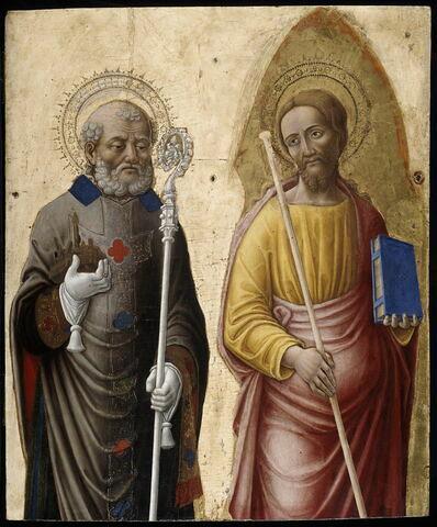 Saint Pétrone et saint Jacques