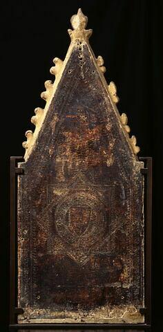 dos, verso, revers, arrière ; vue d'ensemble ; vue avec cadre © 2000 RMN-Grand Palais (musée du Louvre) / René-Gabriel Ojéda