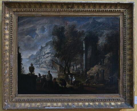 vue avec cadre © 2019 Musée du Louvre / Peintures