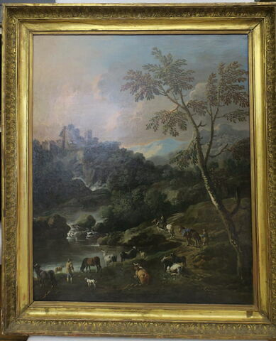 Paysage d'Italie