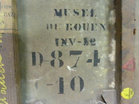 détail inscription © 2017 Musée du Louvre / Peintures