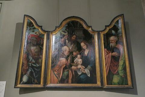 Triptyque de l'Adoration des Mages