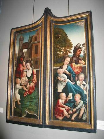 face, recto, avers, avant ; vue d'ensemble © 2006 Musée du Louvre / Peintures