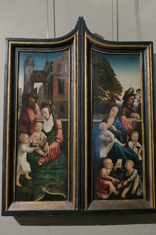 Volet intérieur de retable : Marie Salomé et ses fils, Volet extérieur : Saint Paul
