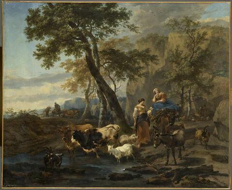 Paysage et animaux