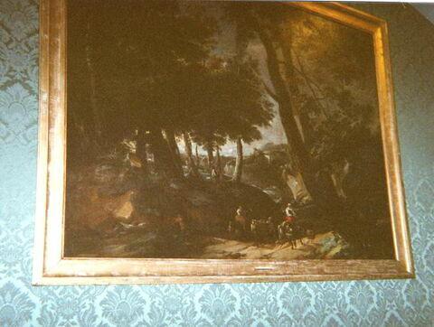face, recto, avers, avant ; vue d'ensemble © 2001 Musée du Louvre / Peintures