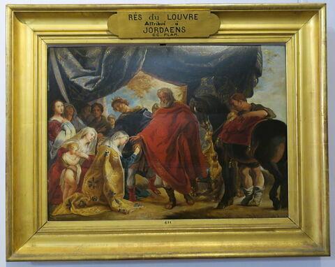Famille de Darius devant Alexandre