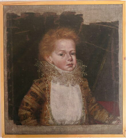face, recto, avers, avant ; vue avec cadre © 2019 Musée du Louvre / Peintures