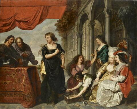 Achille à la Cour de Lycomède