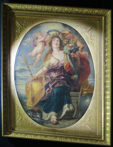 Portrait allégorique de Marie de Medicis ou Allégorie du Bon Gouvernement et de l'Abondance