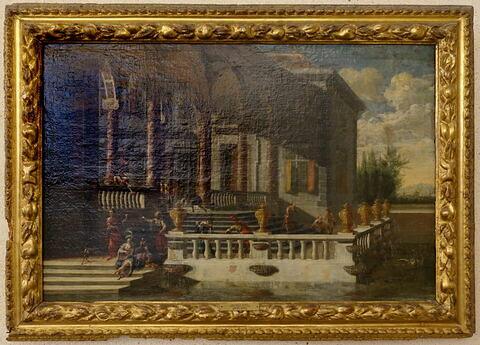 face, recto, avers, avant ; vue avec cadre © 2020 Musée du Louvre / Peintures