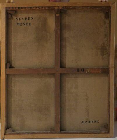 vue d'ensemble ; dos, verso, revers, arrière © 2018 Musée du Louvre / Peintures