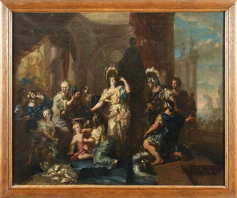 Achille reconnu par Ulysse parmi les filles de Lycomède