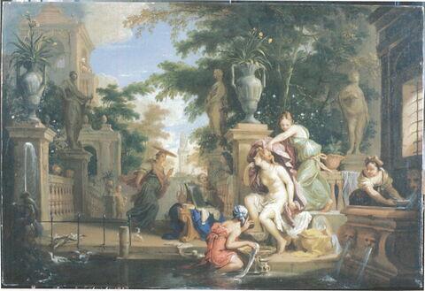 face, recto, avers, avant ; vue d'ensemble ; vue sans cadre © Musée du Louvre