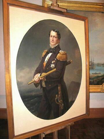 Portrait de l'Amiral Aldabert de Prusse (1811-1873)